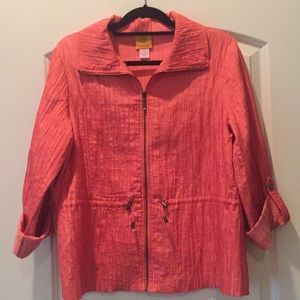 RUBY RD. coral jacket